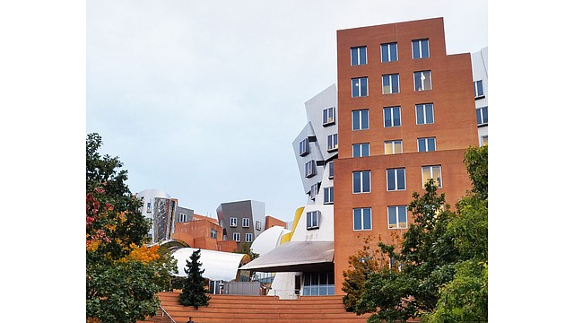 MIT Stata Building en Cambridge, Massachusetts