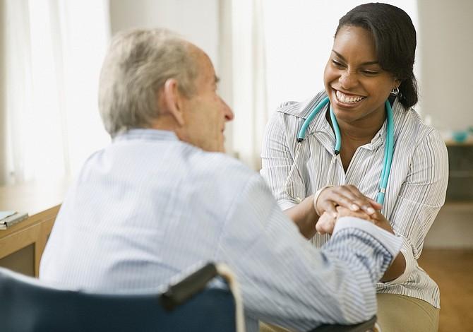 Encontrarse con los pacientes, estén donde estén