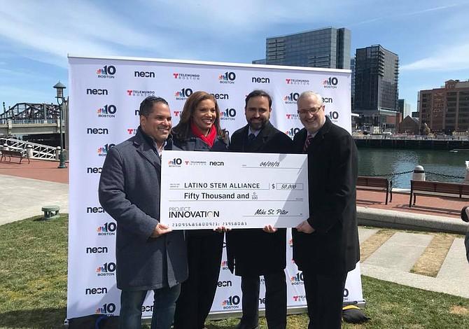Latino STEM Alliance recibió donación de $50.000 para expandirse