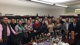 Miembros de la misión comercial del tequila en Massachusetts