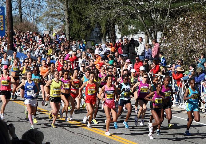 Guía para espectadores del maratón de Boston
