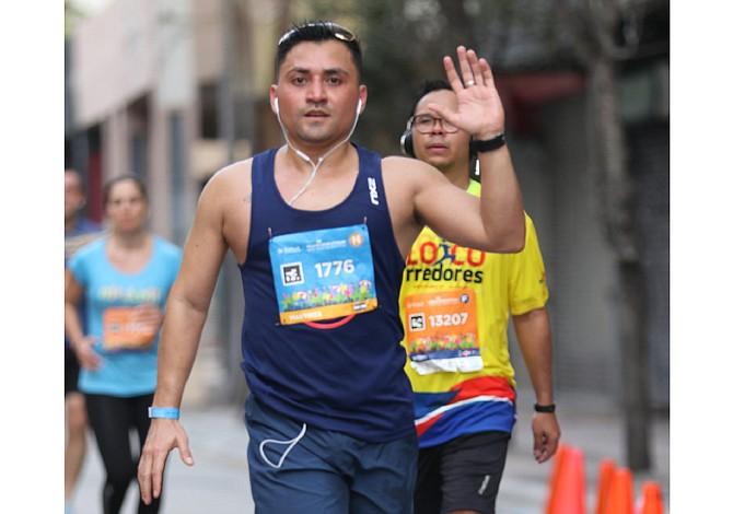 Inspiradora historia de maratonista salvadoreño que superó la depresión corriendo
