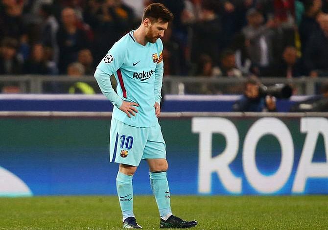Liga de Campeones: Barcelona eliminado en cuartos