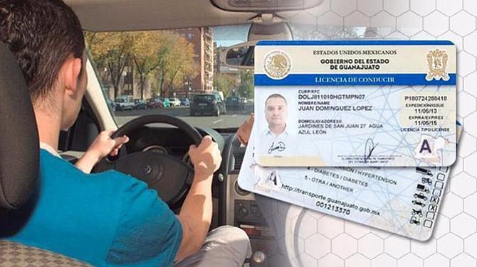 Licencias de conducir para guanajuatenses