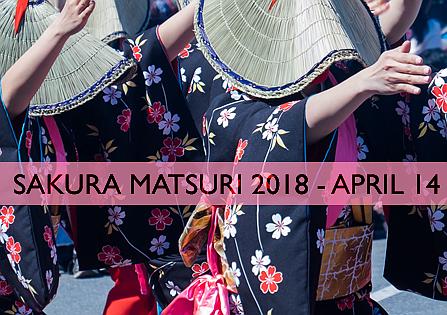 Sakura Matsuri Festival - Sábado 14 de abril