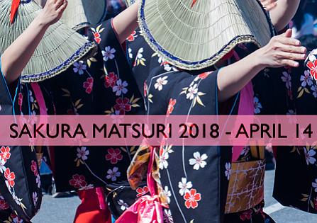 El Festival Japonés Sakura Matsuri regresará a Washington el 14 de abril