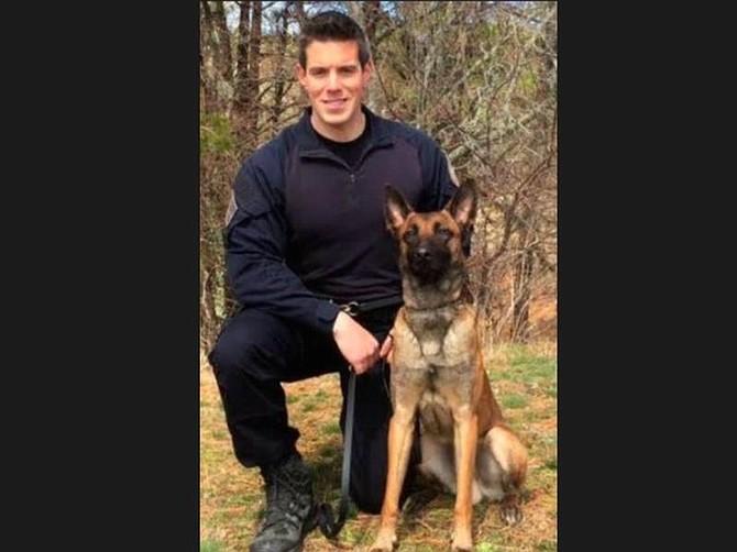 El oficial Sean Gannon fue asesinado a tiros en Cape Cod. Su perro también resultó herido