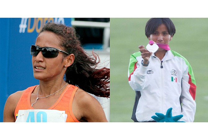 Las maratonistas Kellys Arias de Colombia y Madaí Pérez de México estarán representando a Latinoamérica en el maratón de Boston 2018