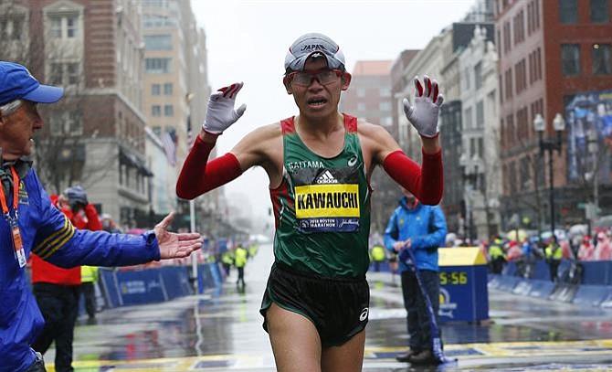 Conozca al japonés amateur que ganó el maratón de Boston