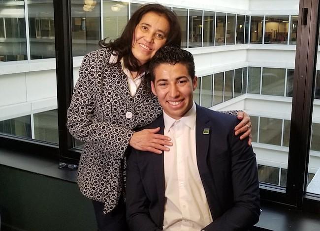 Salvada por su hijo tras recibir un riñón