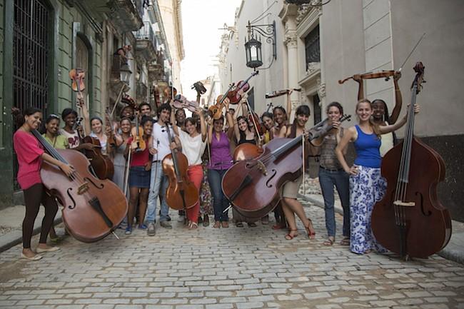 JÓVENES. La Havana Lyceum Orchestra es una agrupación conformada por talentosos músicos jóvenes cubanos.