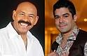 SHOW. Oscar D'León y Jerry Rivera juntos el 11 de mayo.
