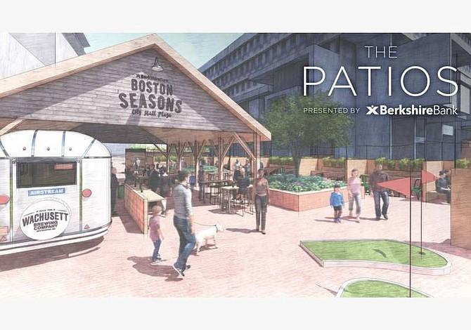La plaza del City Hall se convertirá en un patio para beber cerveza a partir de este fin de semana