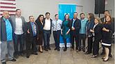 Miembros del Movimiento Nuevas Ideas Boston, en la reunión de oficialización el pasado 1 de abril