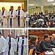 RELIGIOSOS. Los altos representantes de la Conferencia Espiscopal de El Salvador concluyeren una semana de trabajo y gestiones en capital nacional. Además de abogar por el TPS, expusieron la realidad del país centroamericano.