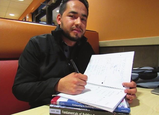 Cruzó la frontera buscando el sueño universitario
