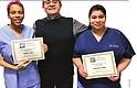 FUERZA LABORAL. Prospect College tiene un programa de entranamieto en el área de la salud para preparar a estudiantes a ingresar a la fuerza laboral.