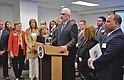 PRESIDENTE. El presidente del Senado de Puerto Rico, Thomas Rivera Schatz, inauguró el miércoles 18 de abril la Oficina de Asuntos Federales, Sociales y Económicos del Senado en la Capital Federal.