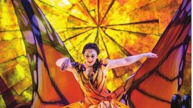 Cirque du Soleil está presentando en el área de DC su producción LUZIA