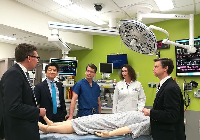 Este hospital realizó primer trasplante de pene y escroto de la historia