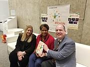 CURADORAS. Las dos curadoras del Festival Artes de Cuba del Kennedy Center, Gilda Almeida, directora de programación internacional; y Alicia Adams, vice-presidenta de programación internacional y danza conversaron con nuestro editor ejecutivo, Rafael Ulloa. CREDITO: ETL