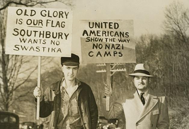 En 1937, los residentes de Southbury, Connecticut, se opusieron con éxito a los esfuerzos del Bund para establecer un campamento de verano en su ciudad.