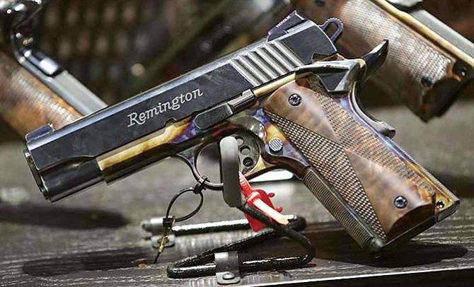 Quiebra de Remington preocupa a los fabricantes de armas