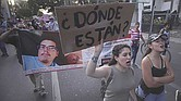Cifras oficiales. Hasta 2017 se contabilizaban en México 33,513 personas desaparecidas.