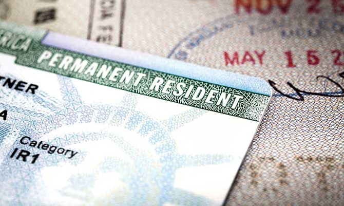 Cuide su 'green card'