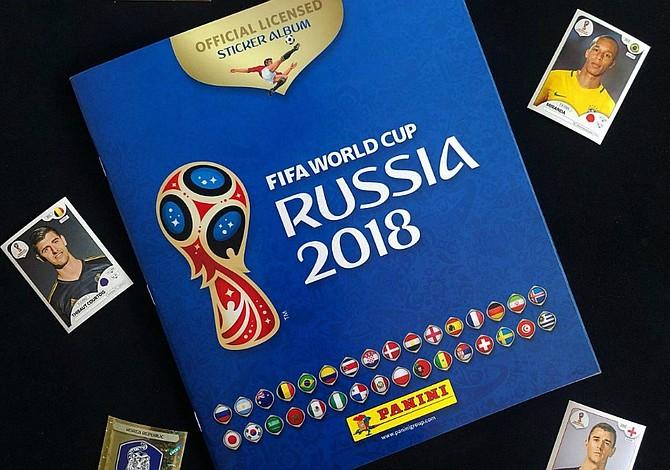 Todo lo que necesitas saber para coleccionar el álbum Panini del Mundial Rusia 2018