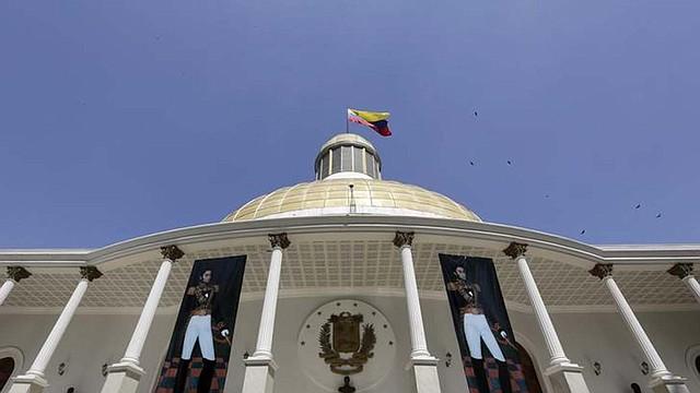 POLÍTICA. Foto del Palacio Federal Legislativo de Venezuela, sede de la Asamblea Nacional