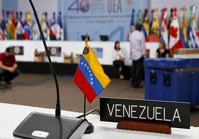 "Venezuela cree ""absolutamente violatoria"" resolución que busca sacarle de OEA"