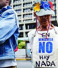 CORRUPCIÓN. Freedom House y la Comisión Interamericana de DD.HH. establecieron un vínculo directo entre la corrupción de régimen de Maduro y la violación de los derechos humanos. | FOTO: EFE