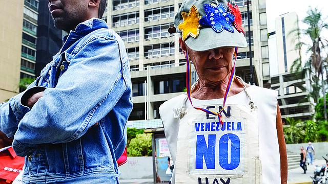 CORRUPCIÓN. Freedom House y la Comisión Interamericana de DD.HH. establecieron un vínculo directo entre la corrupción de régimen de Maduro y la violación de los derechos humanos.   FOTO: EFE