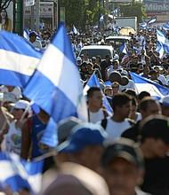 NICARAGUA. Campesinos y ciudadanos en general salieron a las calles de Managua a protestar