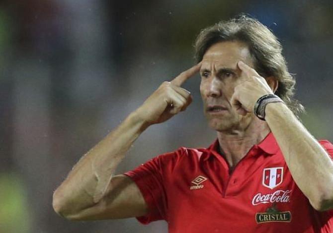 Perú empezó entrenamientos en Lima antes de partido con Escocia