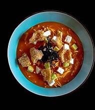 Sopa de Tortilla y Fideos