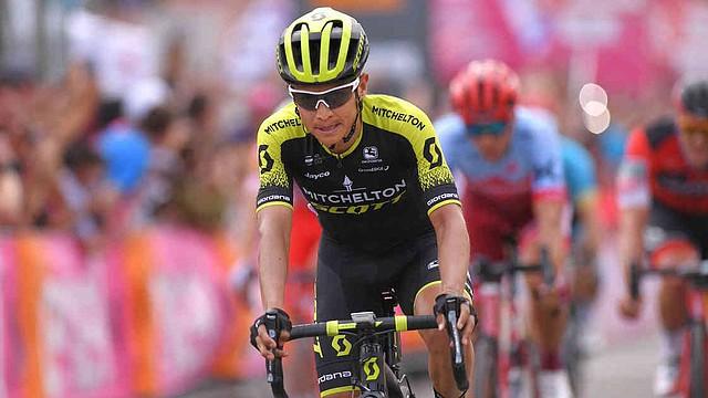 DEPORTES. Ciclista bogotano ascendió al tercer lugar de la clasificación en Italia
