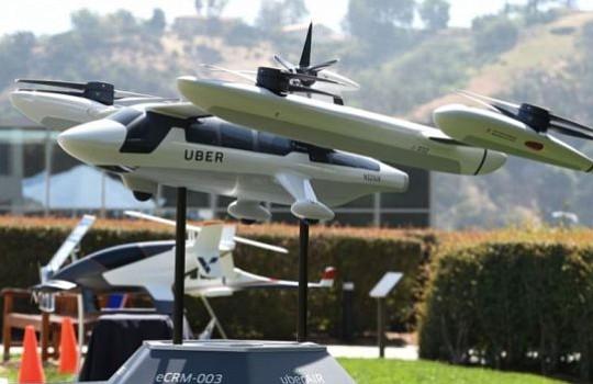 Uber da a conocer un prototipo de taxi aéreo eléctrico para 2028