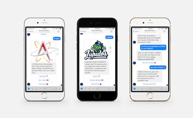 MiLB y Satisfi Labs planean desplegar una plataforma ampliada de conversación de inteligencia artificial y herramienta de relaciones con los aficionados de toda la liga para la temporada de 2019.