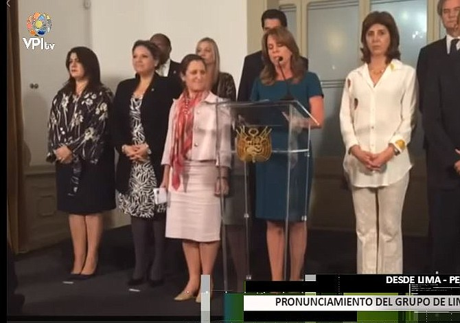 Grupo de Lima se reúne en México para abordar crisis en Venezuela