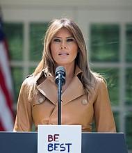 """TRUMP. """"¡Gracias por tanto amor y apoyo!"""", expresó el mandatario de EE.UU."""