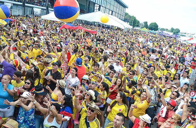 Festival Colombiano de 2014 en Suffolk Downs