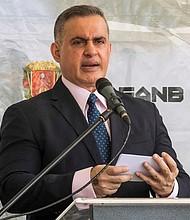 VENEZUELA. Fiscal general venezolano, Tarek William Saab enviará comisión a cárcel El Helicoide