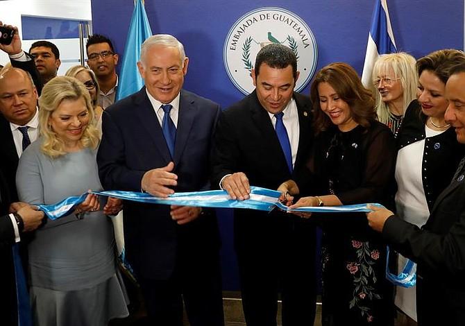 Guatemala abre oficialmente su embajada en Jerusalén