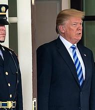 CASA BLANCA. Donald Trump, presidente de Estados Unidos