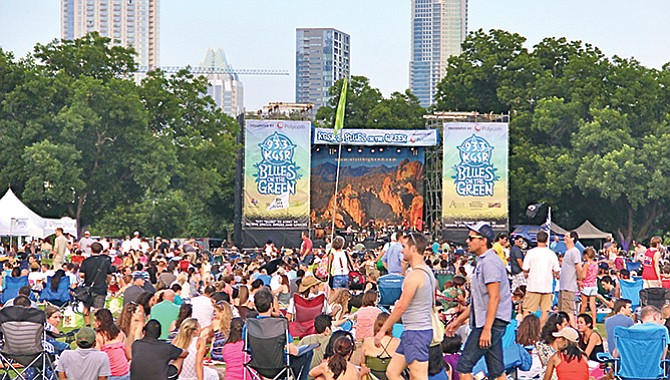 Música, diversión y altruismo en el parque