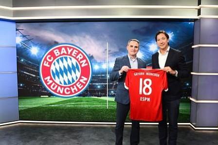 FC Bayern, el primer club en lanzar una alianza de contenido con ESPN