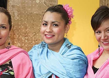 INVITADAS. Las Palomitas Serranas será una de las agrupaciones encargadas de amenizar este gran festival tradicional.