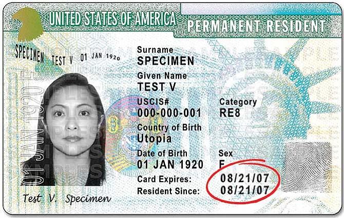 USCIS retirará 'green cards' emitidas con fecha incorrecta: Problemas con la tarjeta de Residente Permanente
